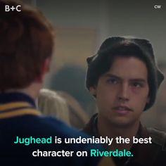 Jughead is a *total* dreamboat.