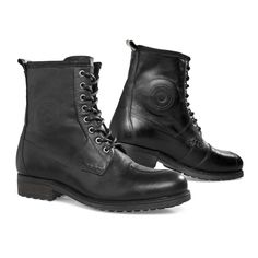 REV'IT Rodeo Boots - Black | Motorcycle Boots | FREE UK delivery - The Cafe Racer