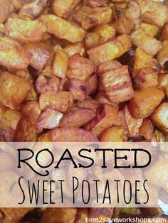 Easy Homemade Roasted Sweet Potatoes #cleaneating #recipes #AdvoCare