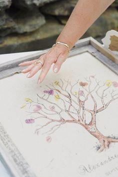 Wedding Guestbook Alternative Ideas   www.onefabday.com