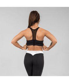 Versa Forma Original Sports Bra Black-Versa Forma-Gym Wear