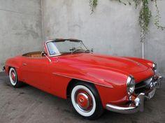 1961 Mercedes Benz #190SL. For all your Mercedes Benz #190SL restoration needs please visit us at http://www.bruceadams190sl.com. #BruceAdams190SL.