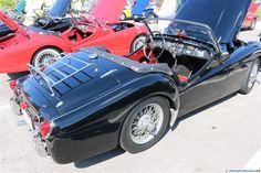 1966 Triumph TR-4A. A seen at the 2014 Texas All British Car Days show.