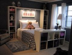 Storage at end of bed - guest room(s)?