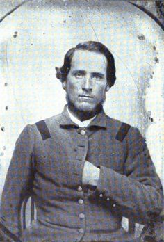 Lt. David L. Phillips 7th Tennessee Infantry, Company K. Captured at Gettysburg, July 3, 1863.