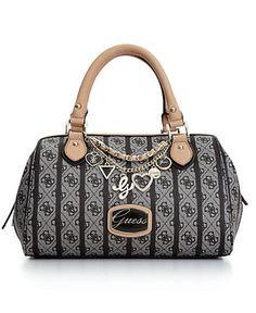 GUESS Handbag, Jasleen Small Box Satchel - Satchels - Handbags & Accessories - Macy's