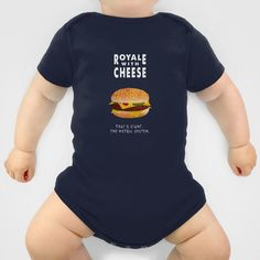 Pulp Fiction - royale with cheese Baby Clothes