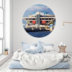 Discover «St. Petersburg Pier», Limited Edition Disk Print by Kevin Nodland - From $99 - Curioos