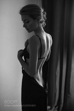 *** by Dmitry Trishin - Photo 133291603 - Body Photography, Photography Poses Women, Boudoir Photography, Portrait Photography, Fashion Photography, Black And White Portraits, Black And White Photography, Victoria Tornegren, Shooting Photo Boudoir