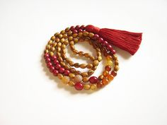 Maroon tassel fall necklace, Brown and red long wooden bead necklace, Beaded tassel necklace fall jewlery Wooden Bead Necklaces, Wooden Beads, Beaded Tassel Necklace, Beaded Bracelets, Ethnic Jewelry, Fashion Necklace, Tassels, Boho, Fall