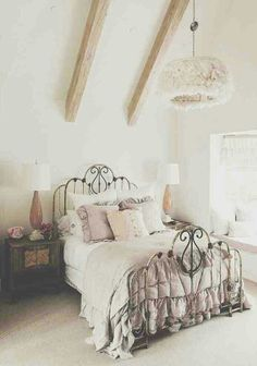 30 Shabby Chic Bedroom Ideas - Decor and Furniture for Shabby Chic ...
