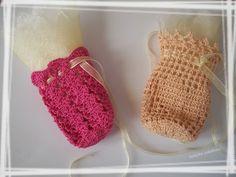 le crochet des8jika: Bonbonnières au crochet pour vos dragées