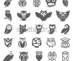 Mini Tattoos, Love Tattoos, Body Art Tattoos, New Tattoos, Small Tattoos, Circle Tattoos, Tiny Owl Tattoo, Simple Owl Tattoo, Tattoo Owl
