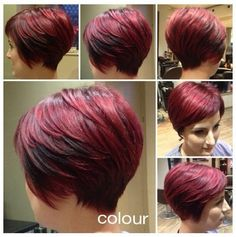 Stylish Hair Color - Women Short Haircuts for 2015