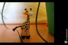 Macrame Giraffe by Breach90