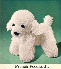 Crochet Dog Patterns from the 50's a Scottie by wanderlustlounge
