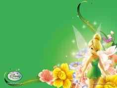 Fairy Wallpaper | Fairy life Tinkerbell Desktop Wallpapers | Cartoon Wallpapers