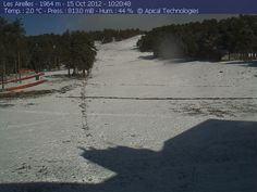 Webcam Les Airelles  15 octobre 2012