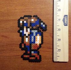 Locke perler sprite from Final Fantasy 6 by Hirosspriteshop, $5.00