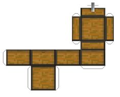 Paper Minecraft Treasure Chest
