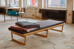 Marina Bautier daybed at MAD About Living 25 designers from Brussels Cologne Passagen