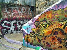 One of the street art capitals of the world  #travel #instatravel #worldtour #travelgram #traveller #instadaily #backpacking #tourism #traveltheworld #trip #exploring #urbanwalls #streetart #streetarteverywhere by markmaffei1