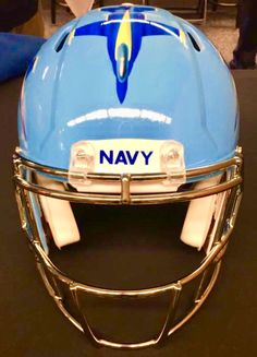 College Football Helmets, Navy Football, Custom Football, Vintage Football, Go Navy, Naval Academy, New England Patriots, Pens, Nfl