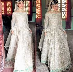 We are swooning over her look! looks regal in Faiza Saqlain while shooting for her project O'Rangreza Pakistani Couture, Pakistani Wedding Dresses, Pakistani Dress Design, Pakistani Outfits, Indian Dresses, Indian Outfits, Desi Wedding Dresses, Wedding Gowns, Walima Dress