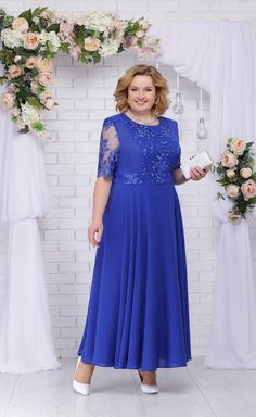 Mother Of The Bride Plus Size, African Fashion Dresses, Bridesmaid Dresses, Wedding Dresses, Elegant Woman, Beautiful Gowns, Chiffon Dress, Dress For You, Plus Size Fashion
