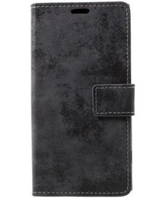 Sony-Xperia-XZ1-Polished-Suede-Cover-Black