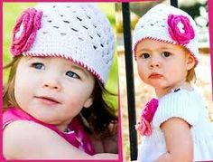 Sweet Beanie by Rufflebutts. The sweetness is oozing from these bad boys. See them here! >> http://yourbabybooty.com/gear/fashionista-mama/sweet-beanies-by-rufflebutts/