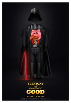 Organ Donation Posters Show That Even 'Bad Guys' Have Some Good In Them - DesignTAXI.com