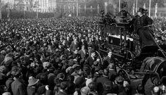 Domingo, 13 de diciembre de 1925: funeral de Pablo Iglesias Posse, fundador del PSOE.