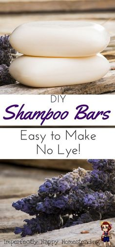 DIY Melt and Pour Shampoo Bars You'll Love Easy to Make DIY Shampoo Bars, no lye to deal with!Easy to Make DIY Shampoo Bars, no lye to deal with! Shampoo Bar Diy, Best Shampoo Bars, Solid Shampoo, Wie Macht Man, Lotion Bars, Homemade Beauty Products, Natural Products, Soap Recipes, Beauty Recipe