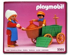 Playmobil 5501_Farmer's Wife & Child_Antex Argentina // Not available