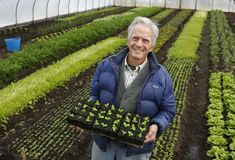 Eliot Coleman reflects on four decades of organic farming in Maine He finds himself an inspiration to a whole new generation of back-to-the-landers. Organic Farming, Organic Gardening, Gardening Tips, Vegetable Gardening, Eliot Coleman, Dinosaur Garden, Portland Press Herald, Young Farmers, James Beard Foundation