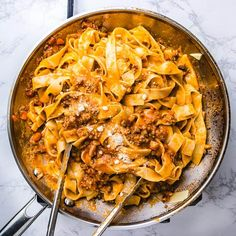 Recipe for the super hearty and delicious authentic bolognese sauce over pappardelle. Recipe for the super hearty and delicious authentic bolognese sauce over pappardelle. Easy Bolognese Sauce Recipe, Best Bolognese Sauce, Slow Cooker Bolognese Sauce, Italian Dishes, Italian Recipes, Pappardelle Recipe, Pasta Recipes, Cooking Recipes, Homemade Pasta