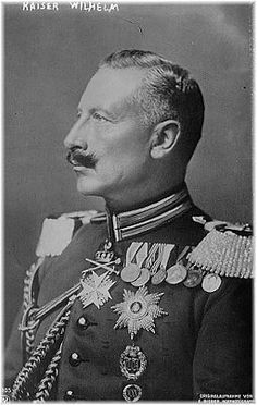"""When day dawned on Sunday, 26 July, the sky did not fall. Shells did not rain down on Belgrade. There was no Austrian declaration of war. The morning remained peaceful, if not calm..."" --Gordon Martel, author of The Month That Changed The World: July 1914 (Kaiser Wilhelm, public domain via Wikimedia Commons) #WWI #history #WW1"