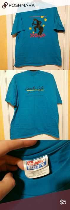 Santa fe Vintage Tshirt XL Cool vintage T from Santa Fe. Adult XL. Super soft and awesome design on the front and back! Pretty turquoise color. Tops