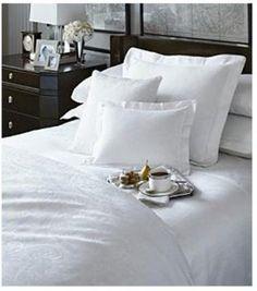 Amazon.com - Lauren by Ralph Lauren Lauren Suite Paisely White Full/Queen Comforter - Paisley White