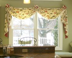 Image result for swag and jabot curtains