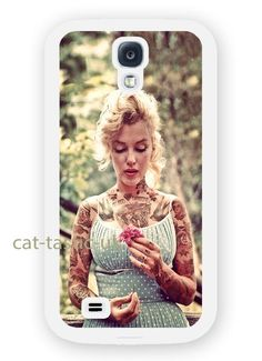 case,cover fits samsung models Marilyn Monroe/gum/VTG/Vintage/tattoo,tattooed