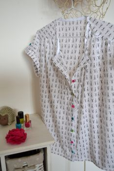 blouse Maya ; patron