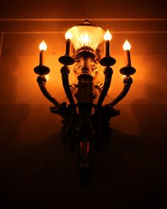 Hena Tayeb Photograph - A beautiful wall light inside the Hôtel de Ville de Montréal also known as city hall located in the Vieux Montreal area.