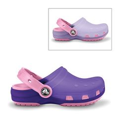 9e8fc828a6fe0 Crocs Lavender   Carnation Translucent Chameleons Clog - Girls. Crocs Shoes ChameleonsCarnationsClogsFlip FlopsGirl ...