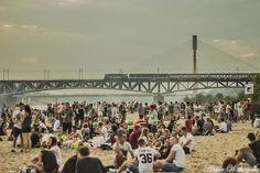 #Warsaw #Poland - Warszawskie nabrzeże w finale konkursu The European Prize for Urban Public Space