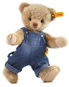 Teddy Bear | teddy bears, Merrythought toy animals : Steiff Jack Classic Teddy Bear ...