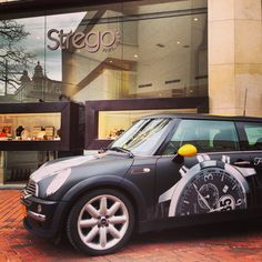 Our mini visited Strego in Hilversum