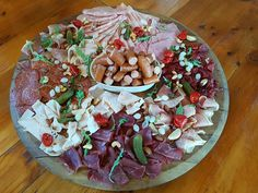 Mixed Meat/Charcuterie Board - Chef Rhys Miller