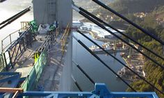Restauración del hormigón del puente de Rande. Vigo
